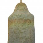 Euphorbia hot water bottle cover - back