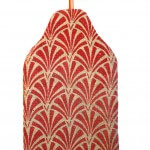 Acanthus hot water bottle cover - back