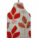 Florence hot water bottle cover - back