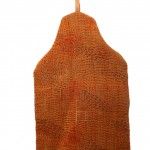 Marigold hot water bottle cover - back
