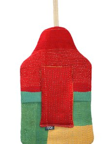 Amarylis hot water bottle cover - front