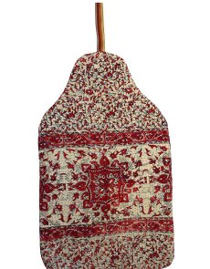 Beautiful soft quilted kantha hot water bottle covers - Dahlia