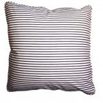 Green Lattice cushion - reverse