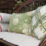 Maggie g cushions on bench