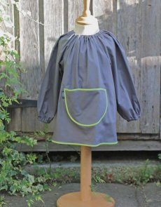 traditional children's art smock