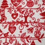Smock pocket - Christmas