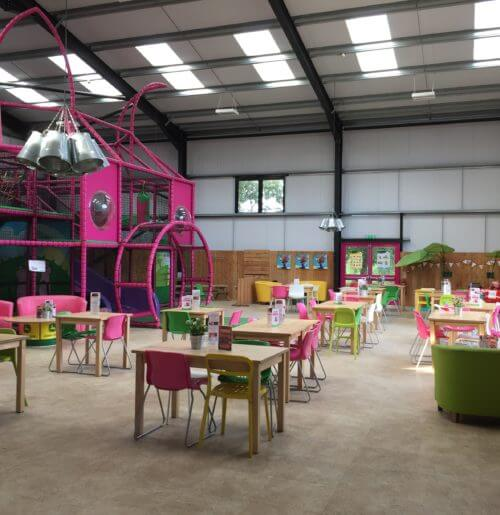 Pink Pig Farm Playbarn