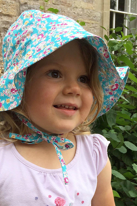 Sun Hat Pretty Pinks